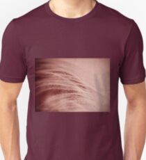 Extreme closeup of sepia feather Unisex T-Shirt