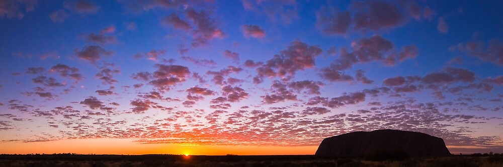 Uluru Sunrise, Part II by Dieter Tracey