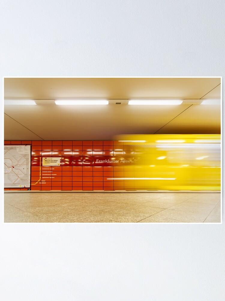 Alternate view of Frankfurter Allee Poster