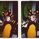 oh those Pesky Stray Cats!!! by evon ski