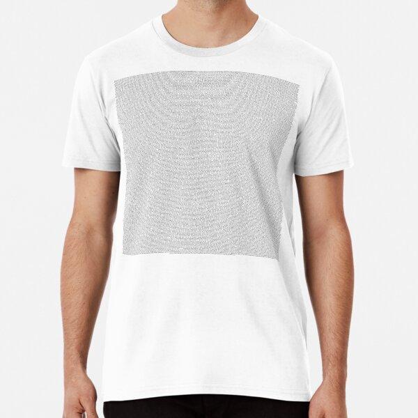 gesamtes Shrek-Skript Premium T-Shirt