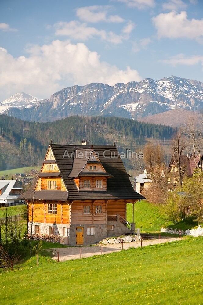 Highlands style building by Arletta Cwalina
