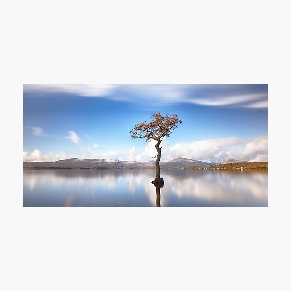 Sunny Afternoon On Loch Lomond Photographic Print