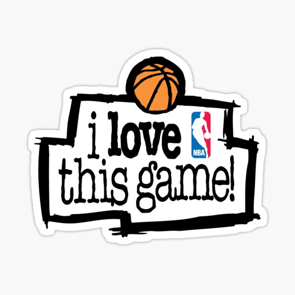 I love this game Sticker