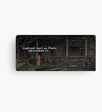 Just As Plato Described It Canvas Print