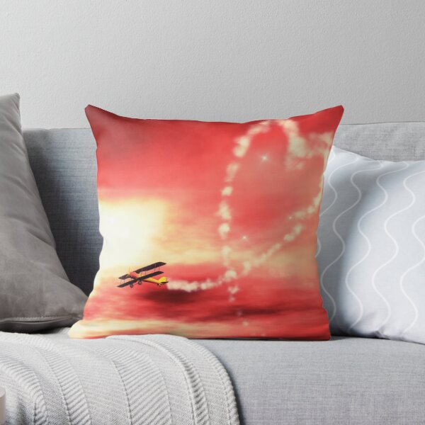 Demonstration of Love Throw Pillow