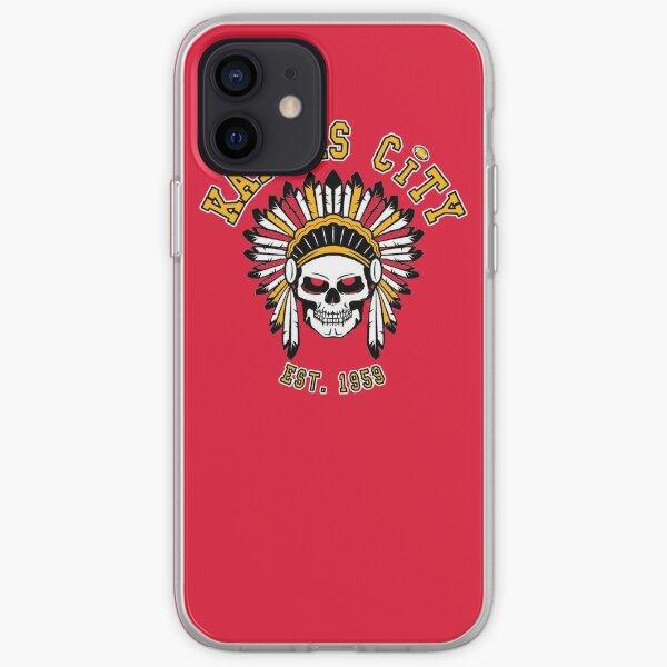 KC Kansas City 2020 Football Retro Vintage Cool Chief MO Fan  iPhone Soft Case
