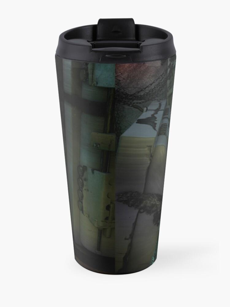 Alternate view of Creature in the dark Travel Mug