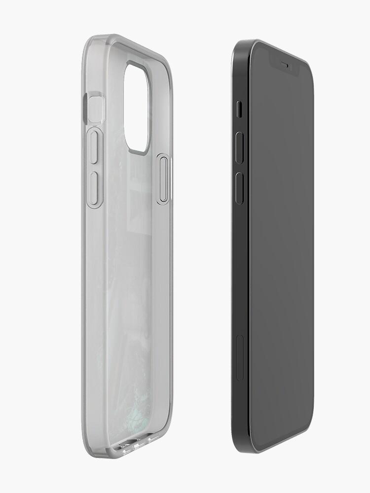 Alternate view of Creature in the dark iPhone Case & Cover