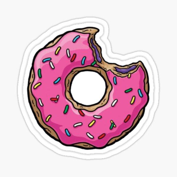 Donut Sticker Sticker