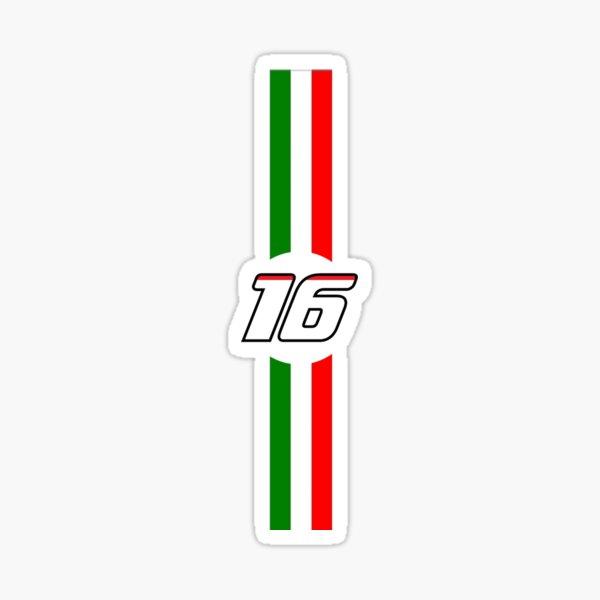 Charles Leclerc Ferrari Número Pegatina