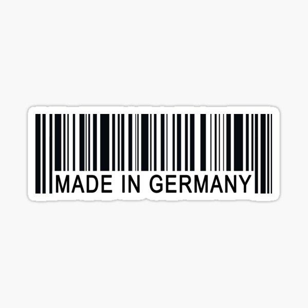 Hecho en Alemania - Regalo divertido Pegatina