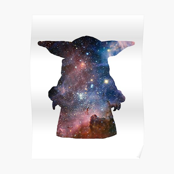 galaxy baby Poster