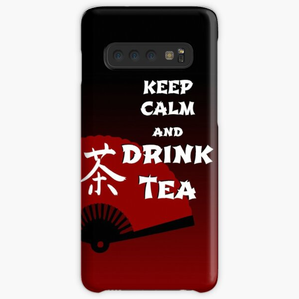 Keep Calm and Drink Tea - dark asia edition Samsung Galaxy Snap Case
