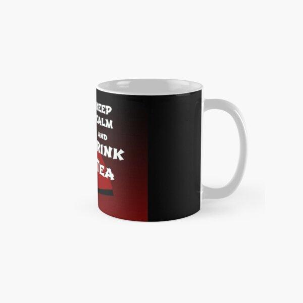 Keep Calm and Drink Tea - dark asia edition Classic Mug
