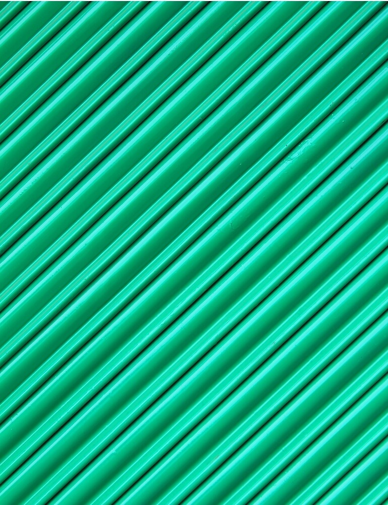 Angled Green Security Shutter by rhamm
