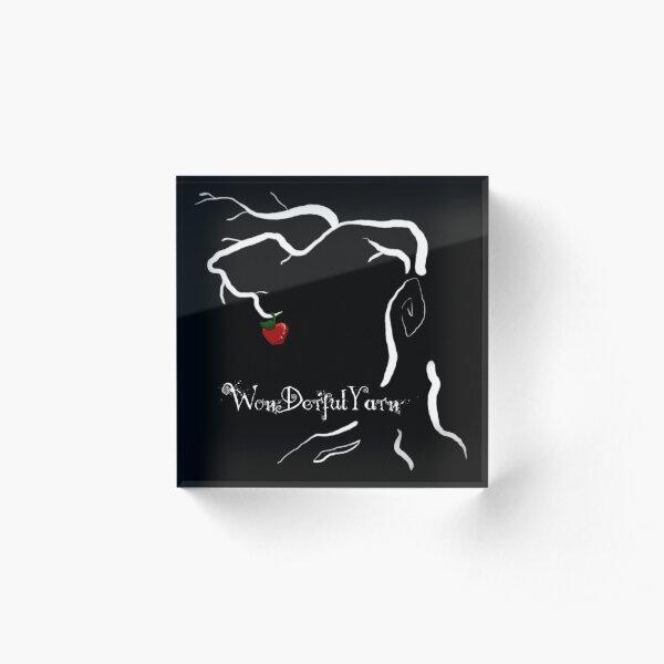 Leben - Der Baum - WonDerfulYarn Acrylblock