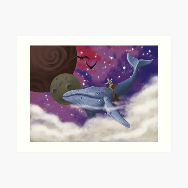 Flying Whale Impression artistique