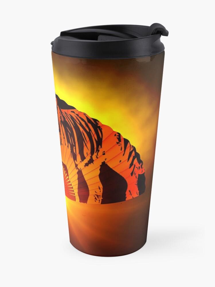Alternate view of Asian subjects; Motive: Tiger Travel Mug