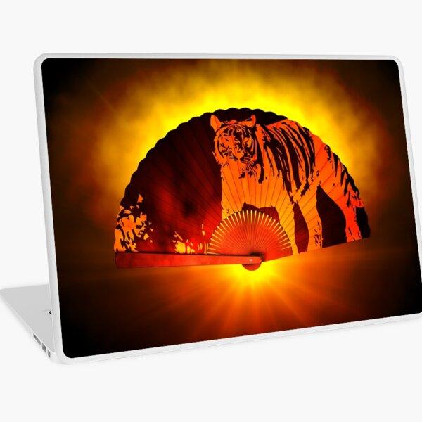 Asian subjects; Motive: Tiger Laptop Skin