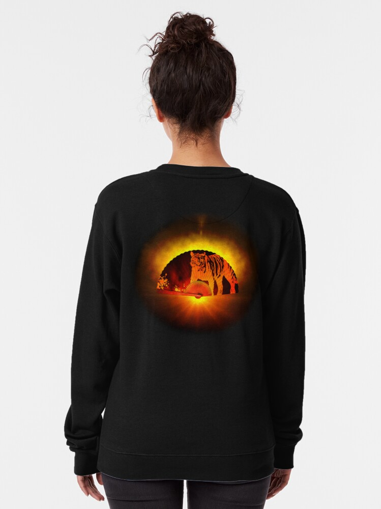 Alternate view of Asian subjects; Motive: Tiger Pullover Sweatshirt