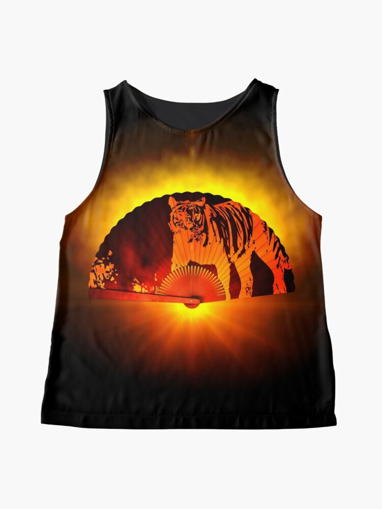 Alternate view of Asian subjects; Motive: Tiger Sleeveless Top