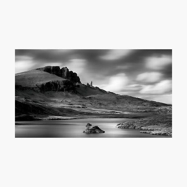 Loch Fada- The Storr Photographic Print