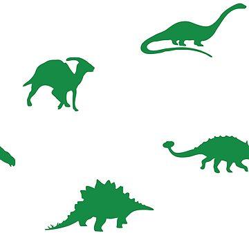 dinosaur pattern for tara <3 by thehellagatsby