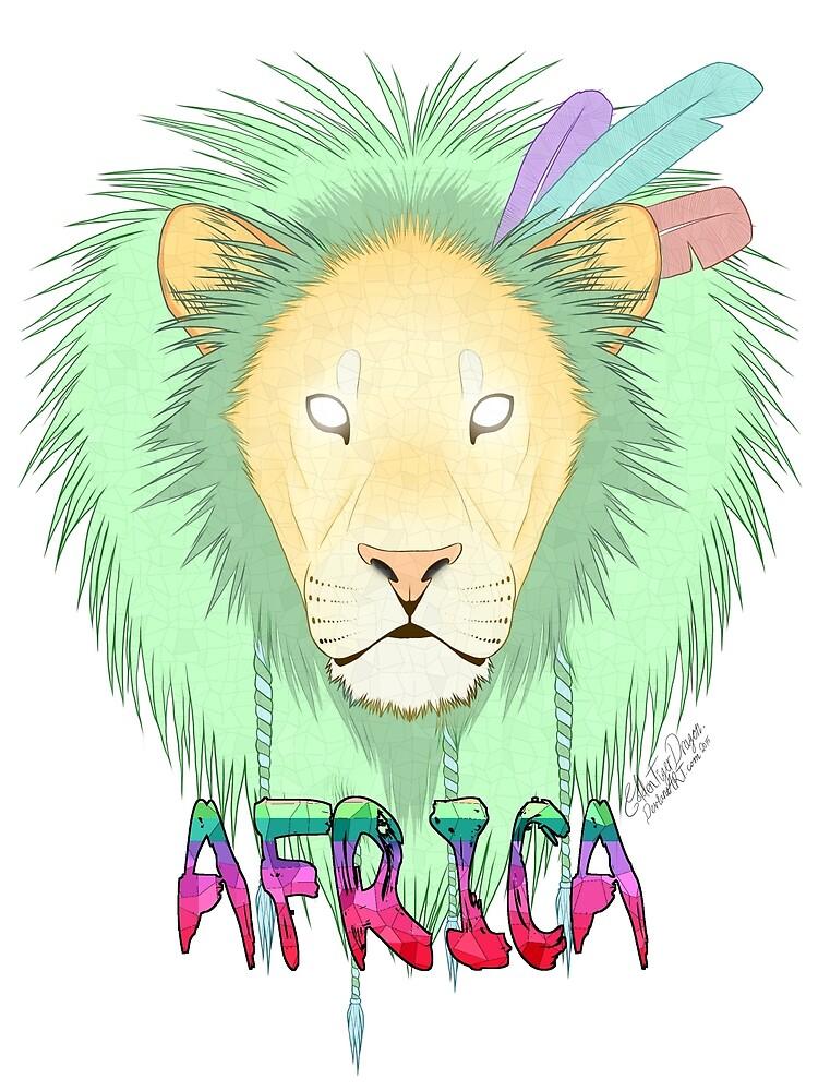 Pastel lion by GoldeyWasHeree
