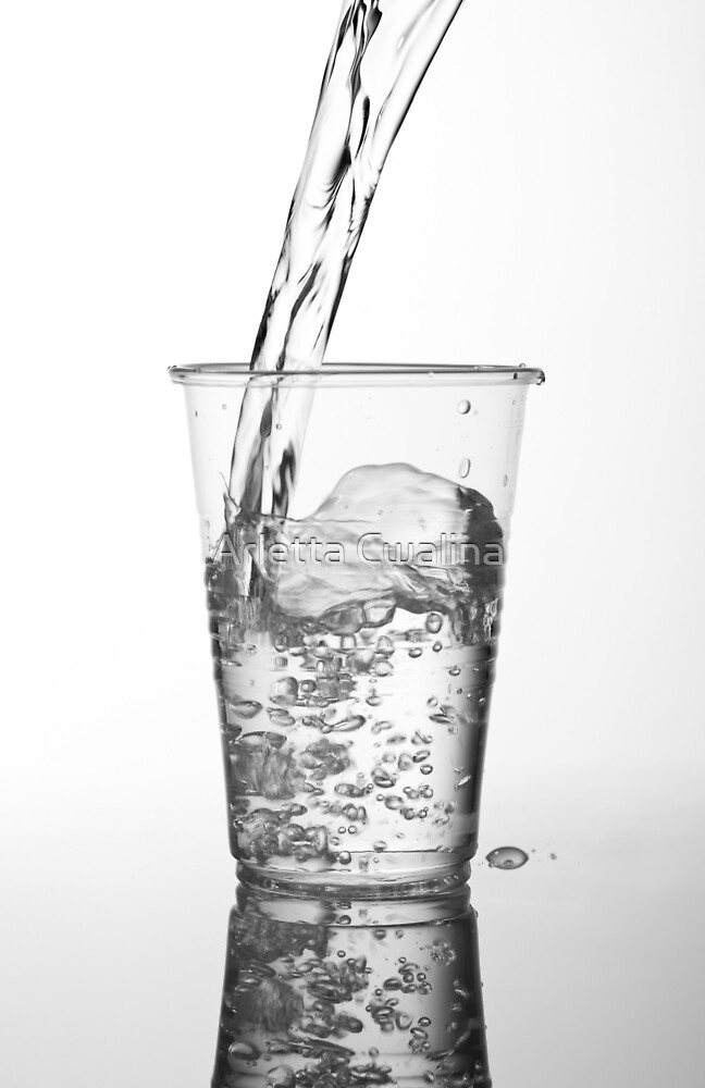 Fresh water pouring by Arletta Cwalina