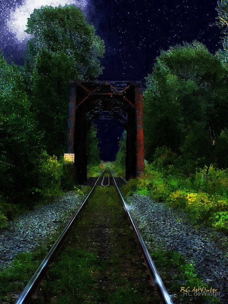 All Down the Line by RC deWinter