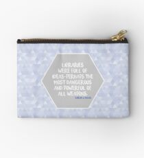 Throne of Glass Libraries Studio Pouch