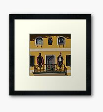 Take a look to the façade!! Framed Print
