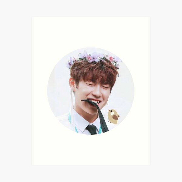 Snuggle-tooth Adorable Baby Park Woojin Art Print