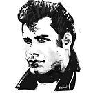 John Travolta by Nigel Silcock
