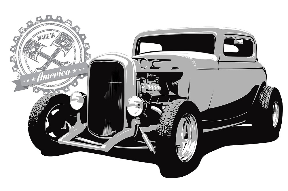1932 Ford Hot Rod - Made in America by 6thGear