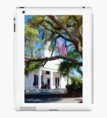 Fellowship Under The Stars And Stripes - Murrells Inlet, South Carolina USA 2015 iPad Case/Skin