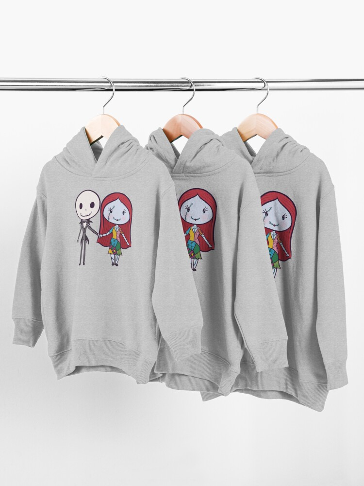 Alternate view of Lil' CutiEs - Couple of Bad Dreams Toddler Pullover Hoodie
