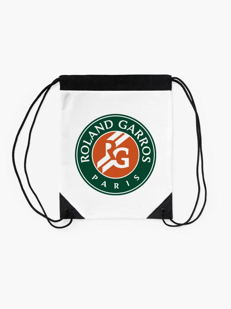 Alternate view of French Open Roland Garros Drawstring Bag