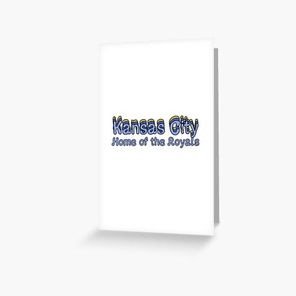 Kansas City, Retro Greeting Card