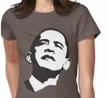 Womens Barack Obama 2012 Womens Fitted T-Shirt