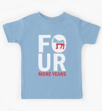 Kids Four More Years Democrat Shirt Kids Tee