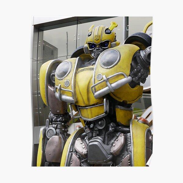 Bumblebee Movie Robot Mode Poster