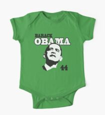 Kids Barack Obama 44th President One Piece - Short Sleeve