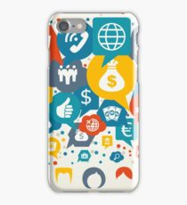 Business the person iPhone Case/Skin