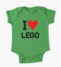 I Love LEGO One Piece - Short Sleeve