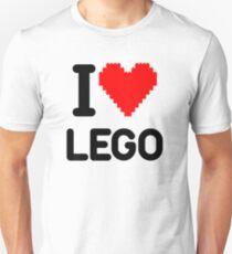 I Love LEGO Unisex T-Shirt