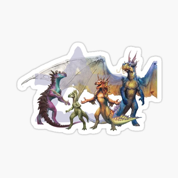 Dragonnewts by Cory Trego-Erdner Sticker