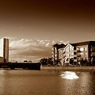Obel Tower and St George's Wharf, Belfast by Chris Millar