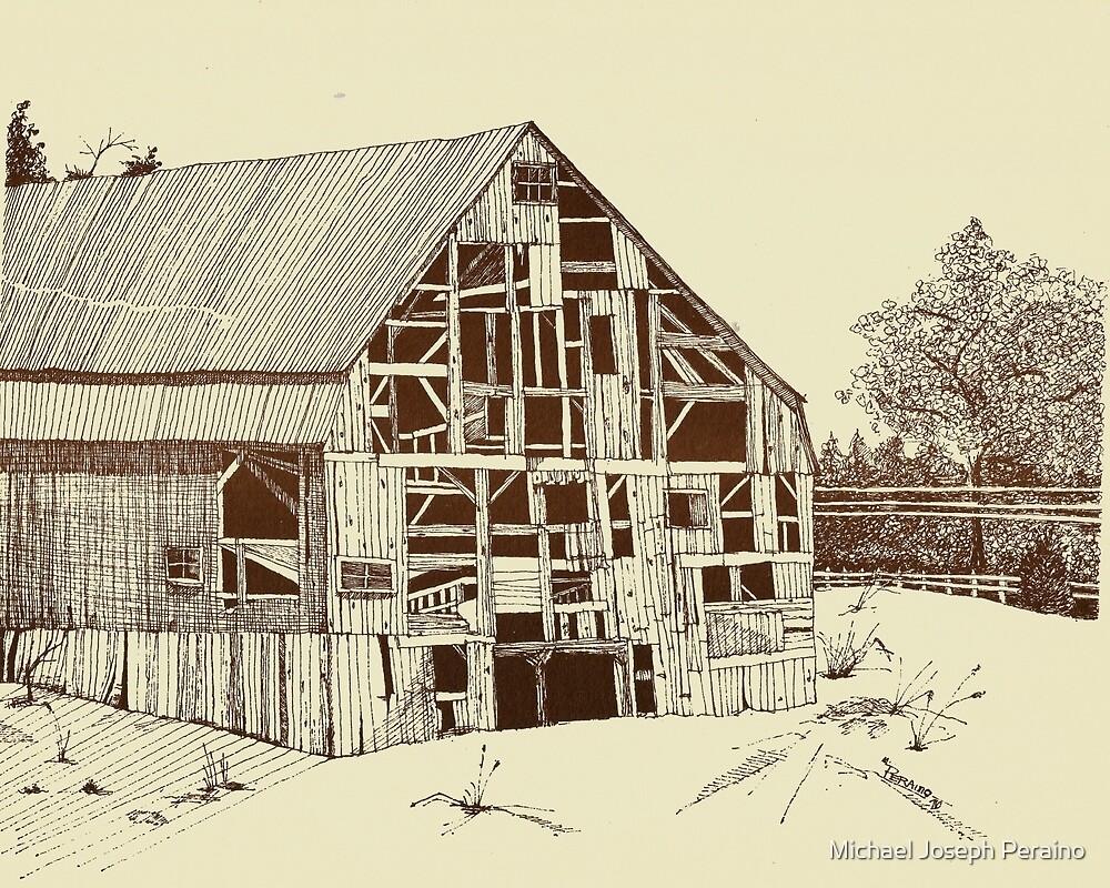 Barn Becomes Art by Michael Joseph Peraino